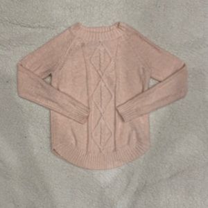 SO Small Pink Sweater